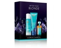 MOROCCANOIL -  Набор BETTER YOUR BLOND MINI