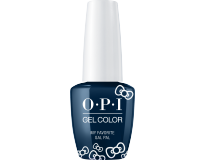 OPI -  Гель-лак GELCOLOR HELLO KITTY HPL09 My Favorite Gal Pal (15 мл)